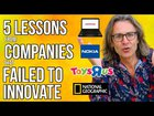 10 Companies that failed to innovate: 5 innovation lessons learned