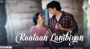 Raataan Lambiyan Lyrics – Shershaah