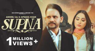 Afsana Khan – Supna Lyrics